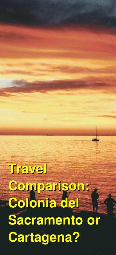 Colonia del Sacramento vs. Cartagena Travel Comparison
