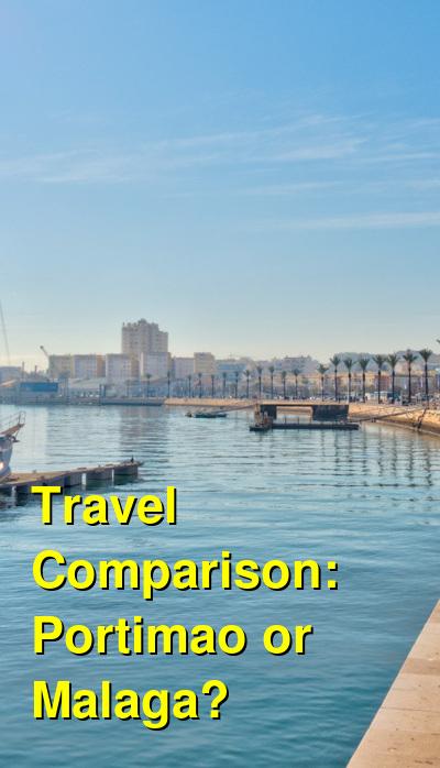 Portimao vs. Malaga Travel Comparison