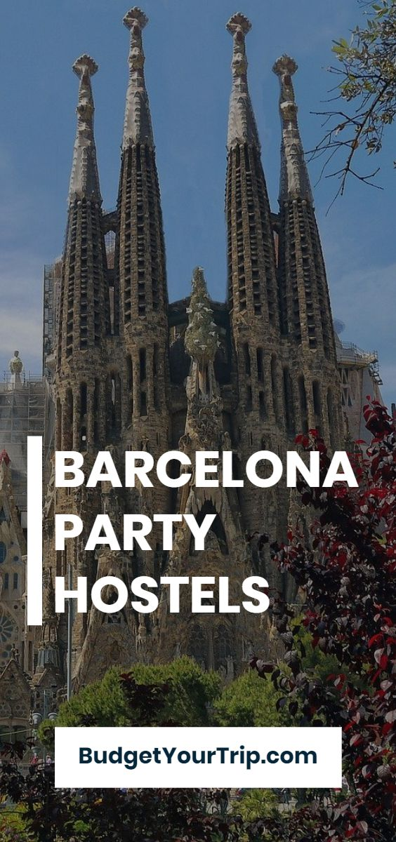 The 6 Best Party Hostels in Barcelona (2019) | Budget Your Trip