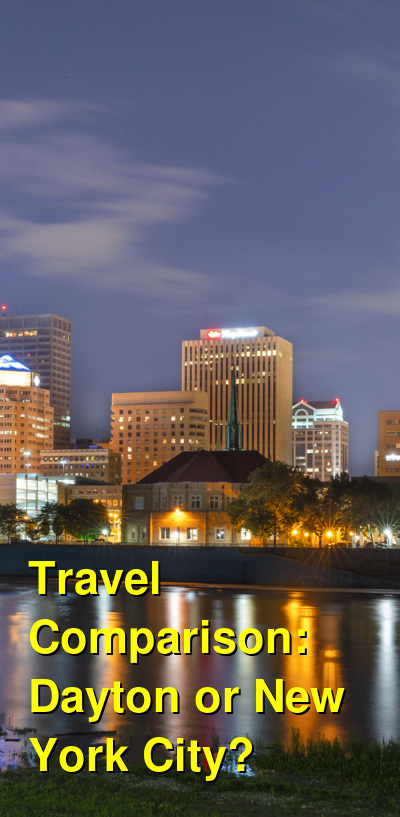 Dayton vs. New York City Travel Comparison