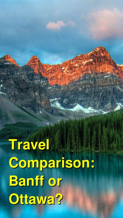 Banff vs. Ottawa Travel Comparison
