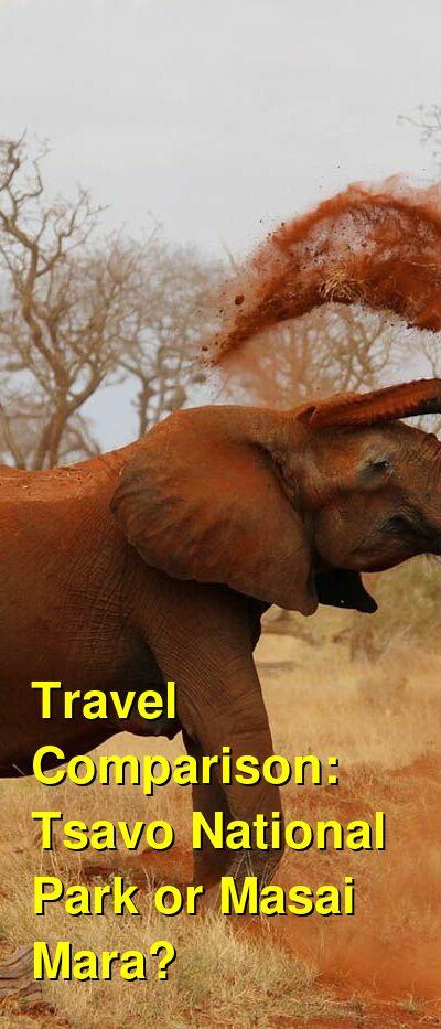 Tsavo National Park vs. Masai Mara Travel Comparison