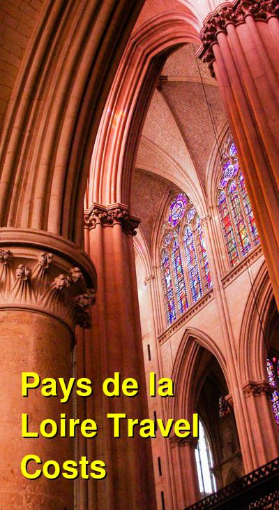 Pays de la Loire Travel Cost - Average Price of a Vacation to Pays de la Loire: Food & Meal Budget, Daily & Weekly Expenses | BudgetYourTrip.com