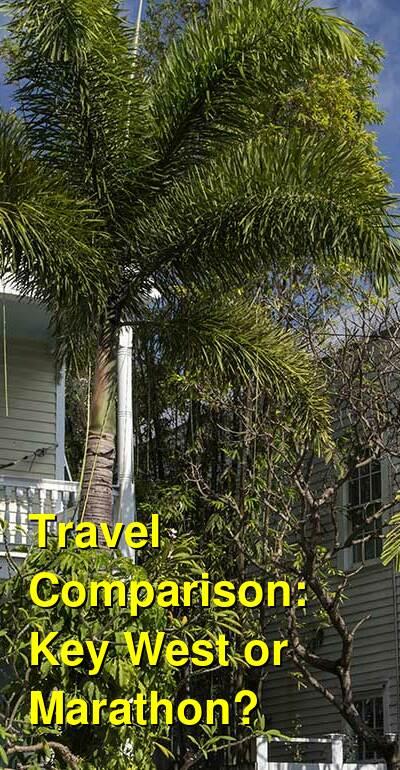 Key West vs. Marathon Travel Comparison