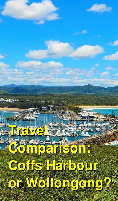 Coffs Harbour vs. Wollongong Travel Comparison