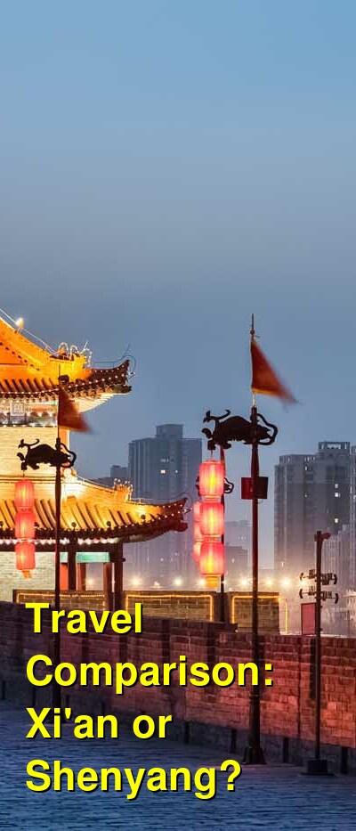 Xi'an vs. Shenyang Travel Comparison