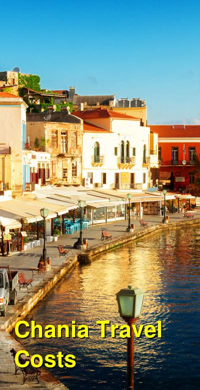 Chania Travel Cost - Average Price of a Vacation to Chania: Food & Meal Budget, Daily & Weekly Expenses | BudgetYourTrip.com