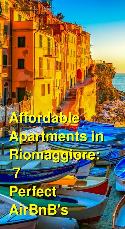 7 Best Apartments in Riomaggiore: Affordable Places to Stay & AirBnB's | Budget Your Trip