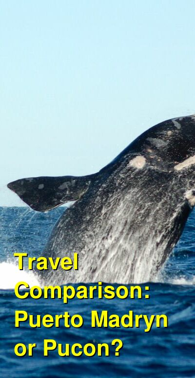 Puerto Madryn vs. Pucon Travel Comparison