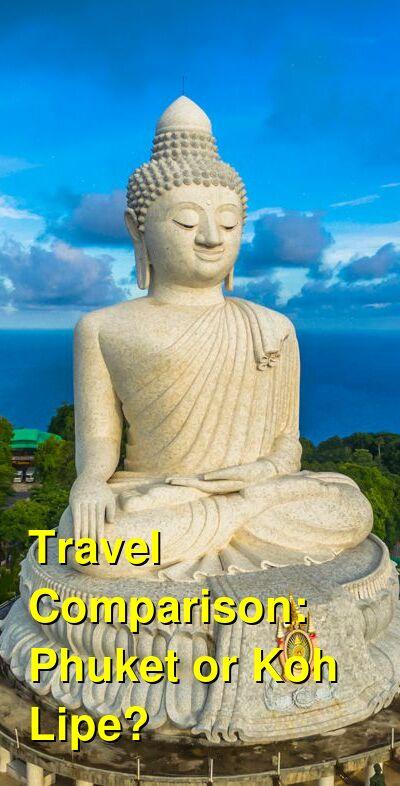 Phuket vs. Koh Lipe Travel Comparison