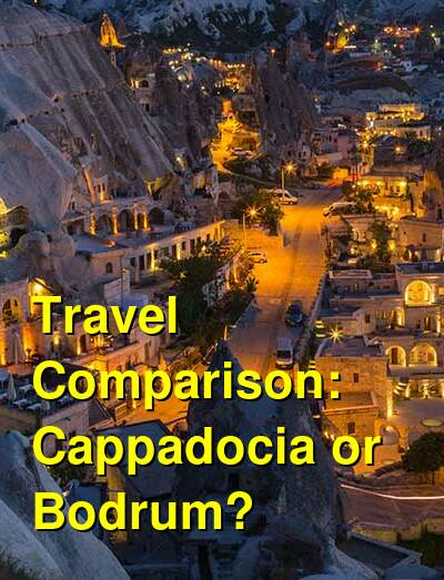 Cappadocia vs. Bodrum Travel Comparison