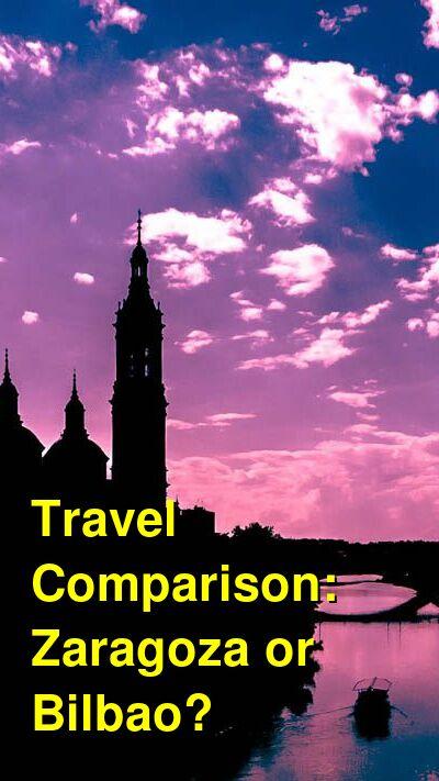 Zaragoza vs. Bilbao Travel Comparison