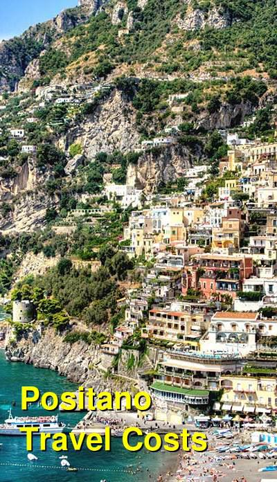 Positano Travel Costs & Prices - Spiaggia Grande, Fornillo & Ferry Boats | BudgetYourTrip.com