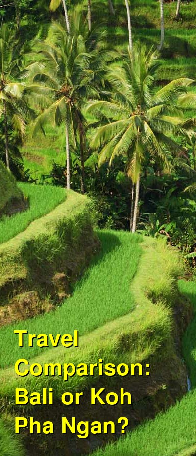 Bali vs. Koh Pha Ngan Travel Comparison