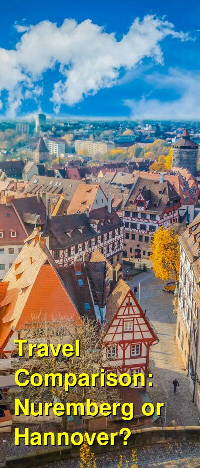 Nuremberg vs. Hannover Travel Comparison