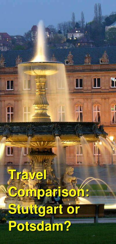 Stuttgart vs. Potsdam Travel Comparison