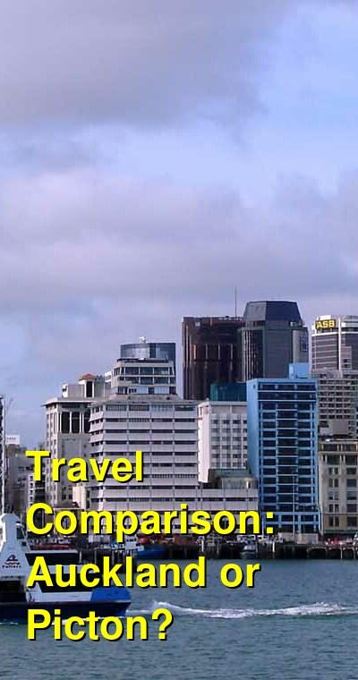 Auckland vs. Picton Travel Comparison