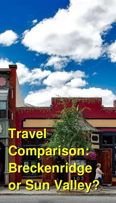 Breckenridge vs. Sun Valley Travel Comparison