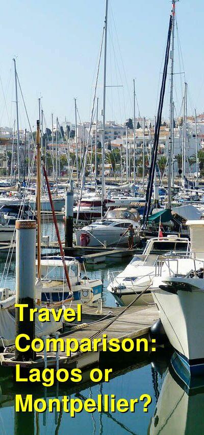 Lagos vs. Montpellier Travel Comparison