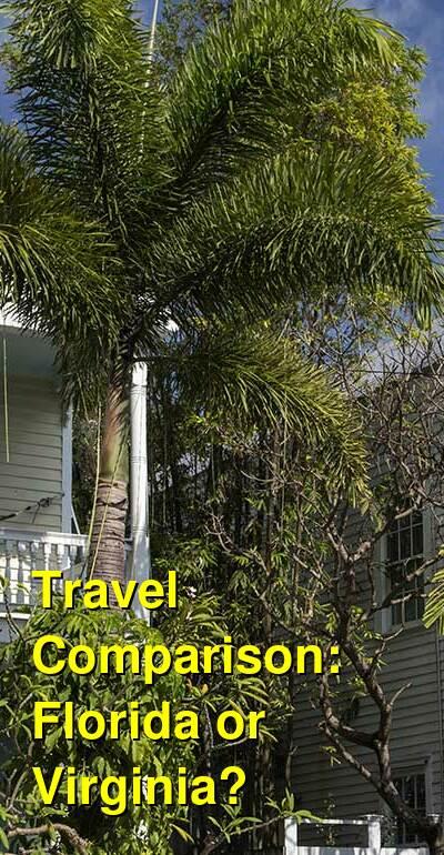 Florida vs. Virginia Travel Comparison