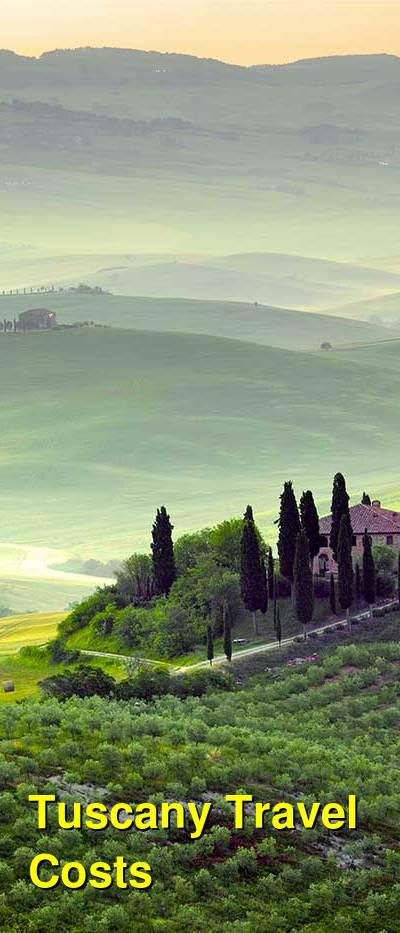 Tuscany Travel Cost - Average Price of a Vacation to Tuscany: Food & Meal Budget, Daily & Weekly Expenses | BudgetYourTrip.com