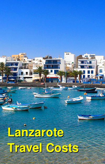 Lanzarote Travel Cost - Average Price of a Vacation to Lanzarote: Food & Meal Budget, Daily & Weekly Expenses | BudgetYourTrip.com