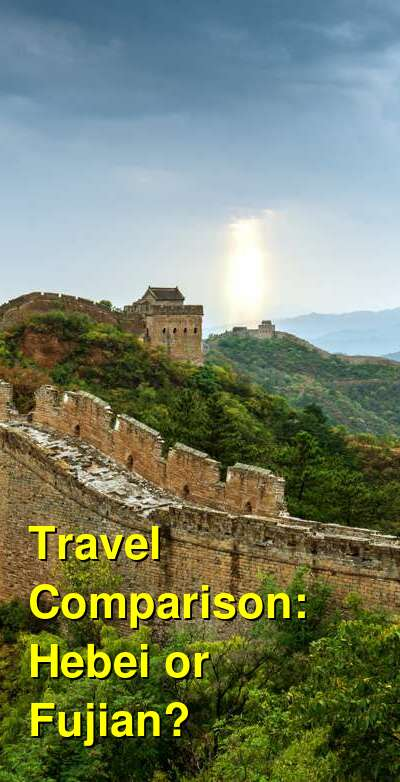 Hebei vs. Fujian Travel Comparison