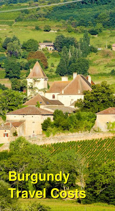 Burgundy Travel Cost - Average Price of a Vacation to Burgundy: Food & Meal Budget, Daily & Weekly Expenses | BudgetYourTrip.com