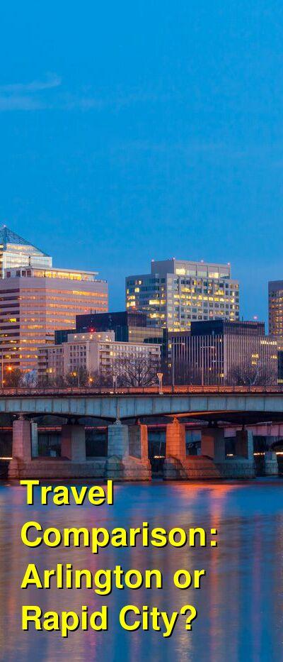 Arlington vs. Rapid City Travel Comparison