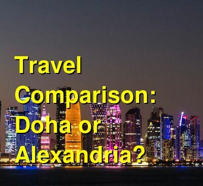 Doha vs. Alexandria Travel Comparison