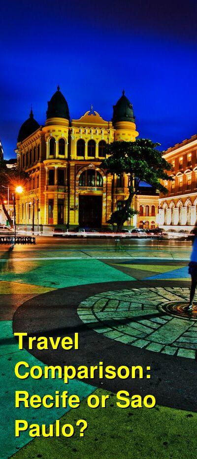 Recife vs. Sao Paulo Travel Comparison