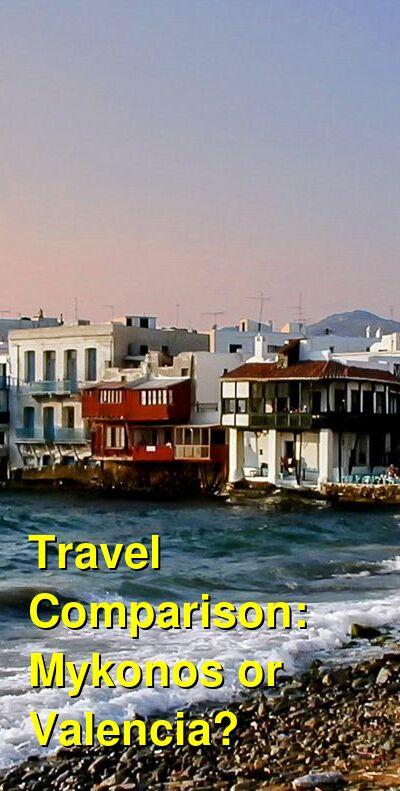 Mykonos vs. Valencia Travel Comparison