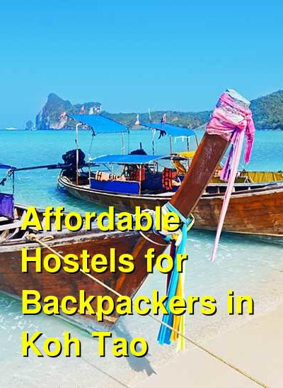 Affordable Hostels for Backpackers in Koh Tao | Budget Your Trip