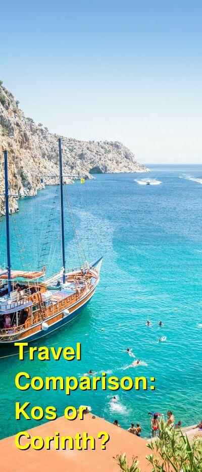 Kos vs. Corinth Travel Comparison