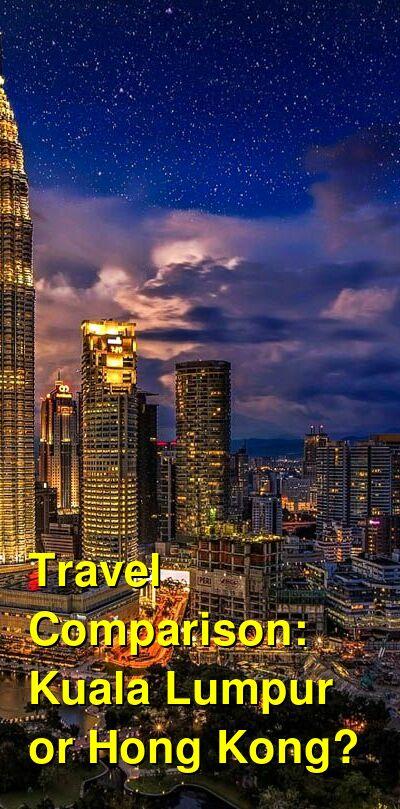Kuala Lumpur vs. Hong Kong Travel Comparison