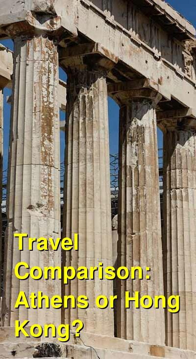 Athens vs. Hong Kong Travel Comparison