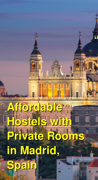 Affordable Hostels with Private Rooms in Madrid, Spain   Budget Your Trip