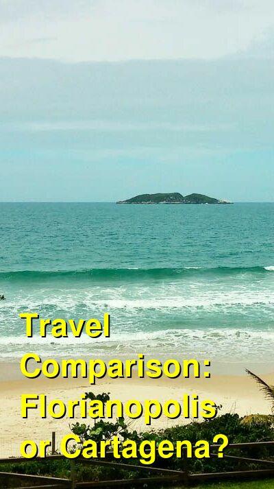 Florianopolis vs. Cartagena Travel Comparison