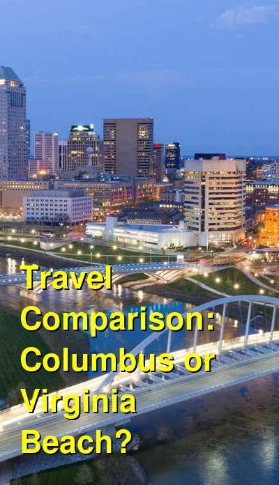 Columbus vs. Virginia Beach Travel Comparison