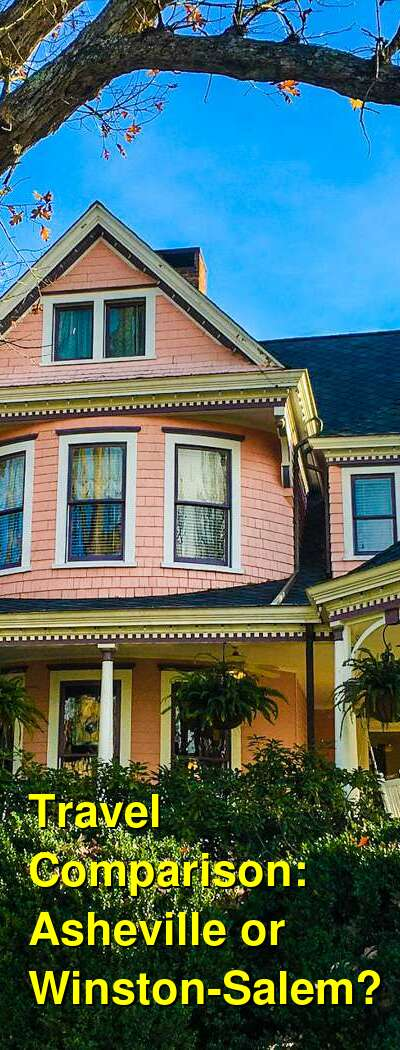 Asheville vs. Winston-Salem Travel Comparison