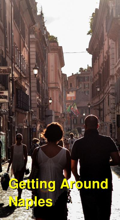 Getting Around Naples: The Circumvesuviana, Ferries, the Metro, and Taxis | Budget Your Trip