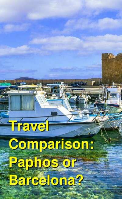 Paphos vs. Barcelona Travel Comparison