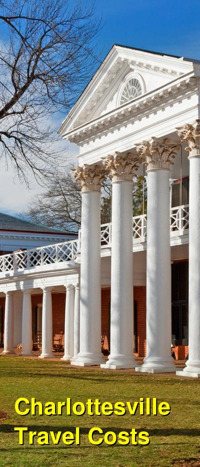 Charlottesville Travel Cost - Average Price of a Vacation to Charlottesville: Food & Meal Budget, Daily & Weekly Expenses | BudgetYourTrip.com
