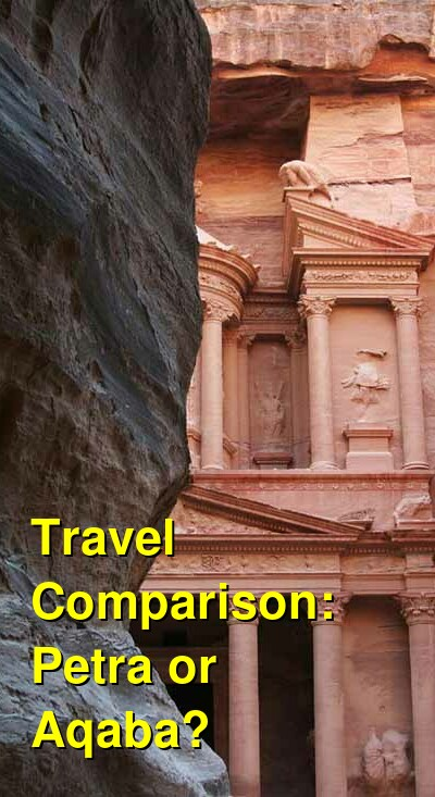 Petra vs. Aqaba Travel Comparison