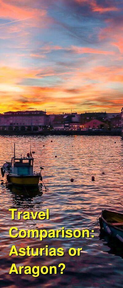 Asturias vs. Aragon Travel Comparison