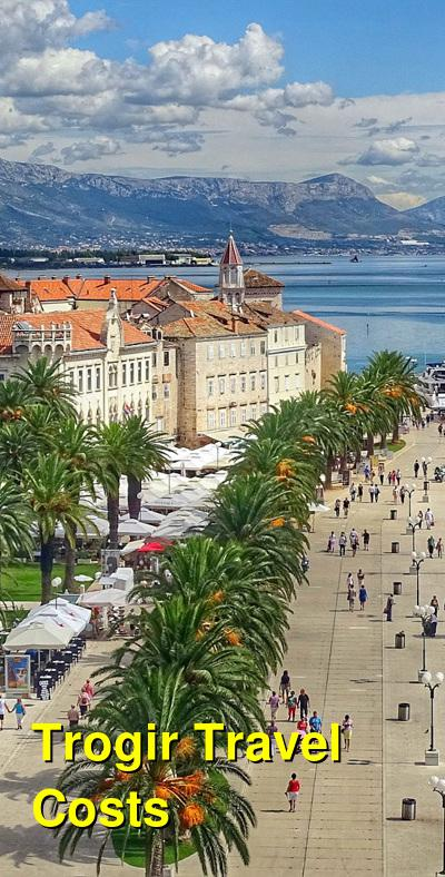 Trogir Travel Cost - Average Price of a Vacation to Trogir: Food & Meal Budget, Daily & Weekly Expenses | BudgetYourTrip.com
