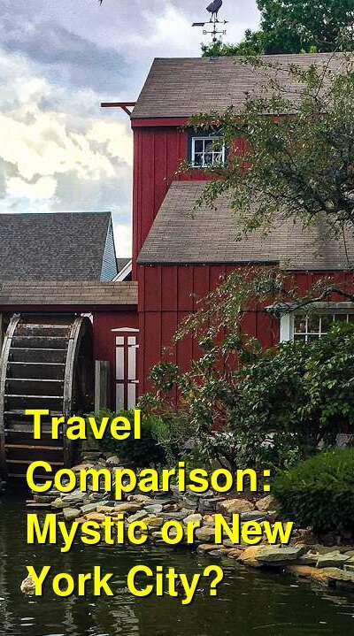 Mystic vs. New York City Travel Comparison
