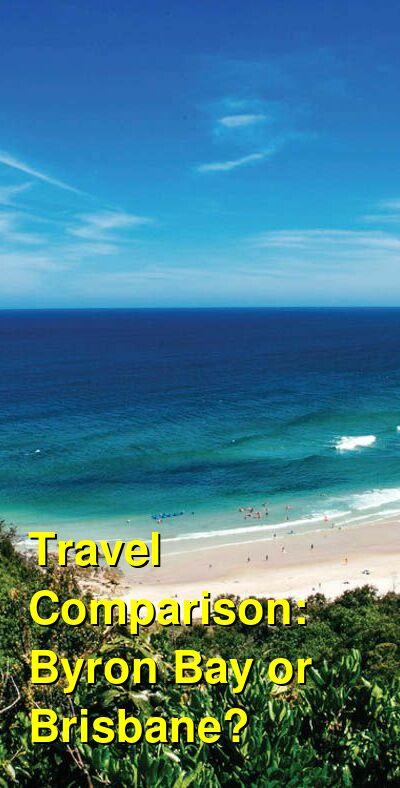 Byron Bay vs. Brisbane Travel Comparison