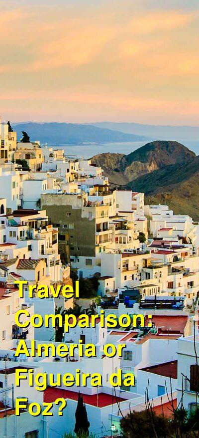 Almeria vs. Figueira da Foz Travel Comparison