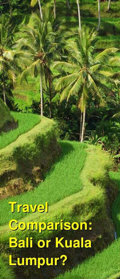 Bali vs. Kuala Lumpur Travel Comparison